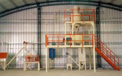 Mezcla de productos secos