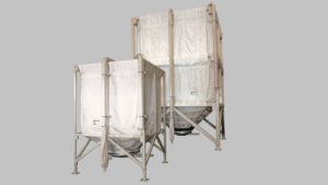 Silos de tela STP silos flexibles de tejido