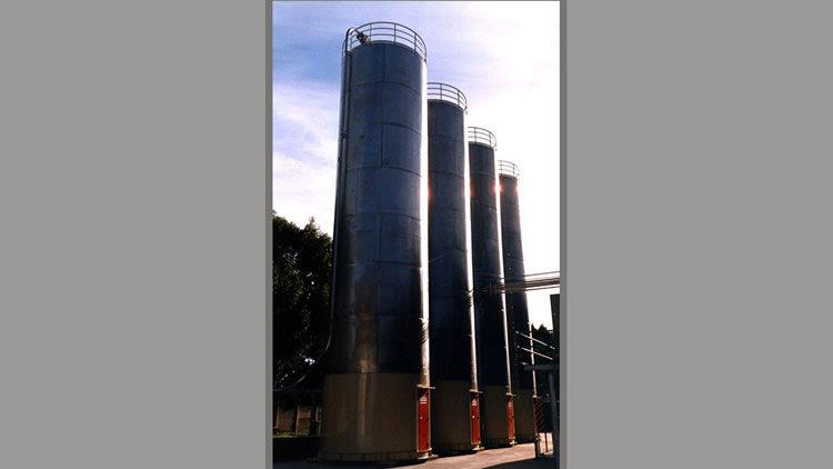 Planta de recepción de polímeros a granel de 400 tn.