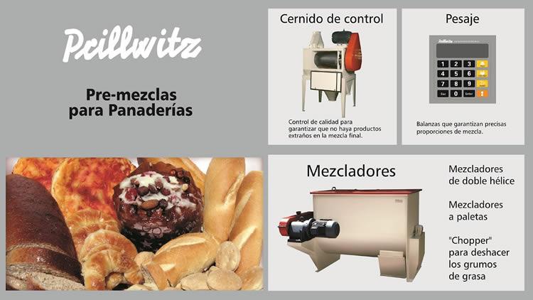 Mezcladores para panaderias