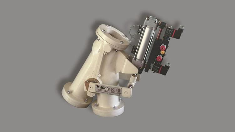 Válvula de desvío para transporte neumático VTN