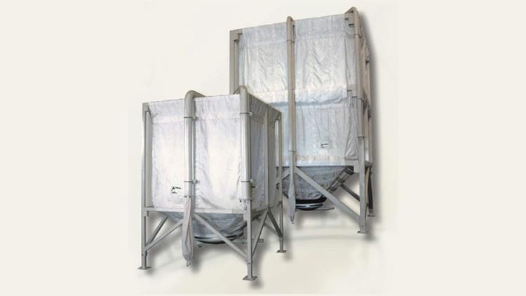 silos flexibles de tejido Trevira®