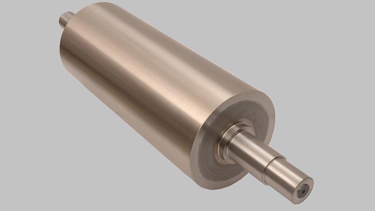 Rollos y rodillos para molino de cilindros horizontales