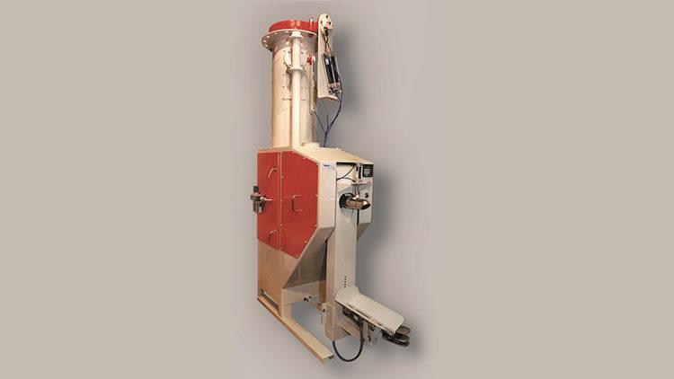 Embolsadora neumática para ensacado de harinas