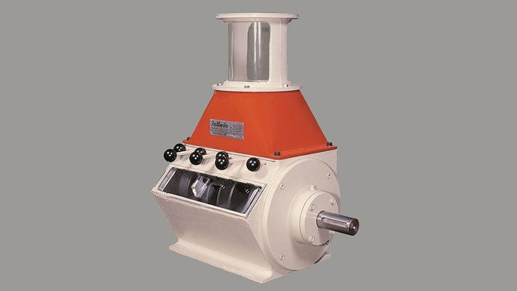 Medidor dosificador volumétrico de productos granulados